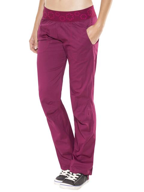 Ocun Pantera lange broek Dames rood